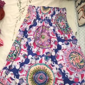 Lilly Pulitzer skirt.